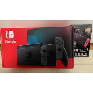 ニンテンドースイッチ(Nintendo Switch)の新品同様★Nintendo・Switch・スイッチ・グレー★2021年製・オマケ(家庭用ゲーム機本体)
