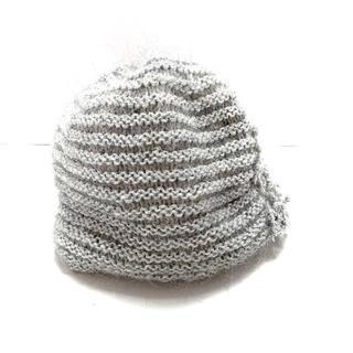 アンテプリマ(ANTEPRIMA)のアンテプリマ ニット帽 - グレー(ニット帽/ビーニー)