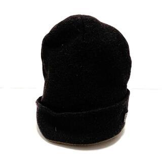 コーチ(COACH)のCOACH(コーチ) ニット帽 - ウール(ニット帽/ビーニー)