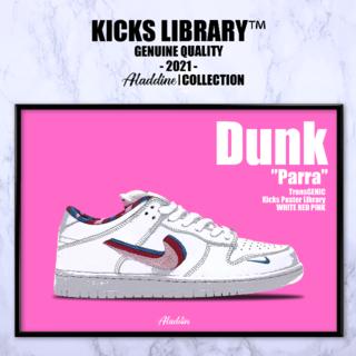 ナイキ ダンク スニーカーポスター キックスポスター/TGPDNK013(その他)