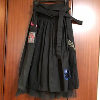 マークジェイコブス(MARC JACOBS)の専用  美品 マークジェイコブス スカート スパンコール(ひざ丈スカート)