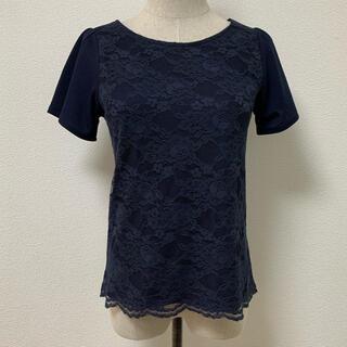 クチュールブローチ(Couture Brooch)のレースカットソー(カットソー(半袖/袖なし))