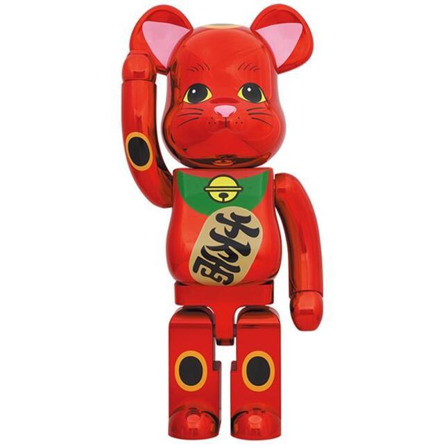 BE@RBRICK 招き猫 梅金メッキ 1000% エンタメ/ホビーのフィギュア(その他)の商品写真