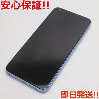 エルジーエレクトロニクス(LG Electronics)の美品 SIMロック解除済 L-03K ブルー 本体 白ロム (スマートフォン本体)
