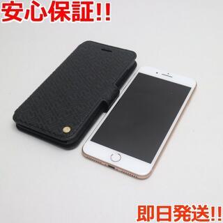 アイフォーン(iPhone)の美品 SIMフリー iPhone8 PLUS 64GB ゴールド (スマートフォン本体)