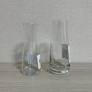 IKEA - IKEA イケア 花瓶 フラワーベース 2点セット