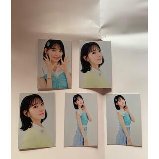 エイチケーティーフォーティーエイト(HKT48)のIZONE HKT48 宮脇咲良 公式トレカ 5枚セット(アイドルグッズ)