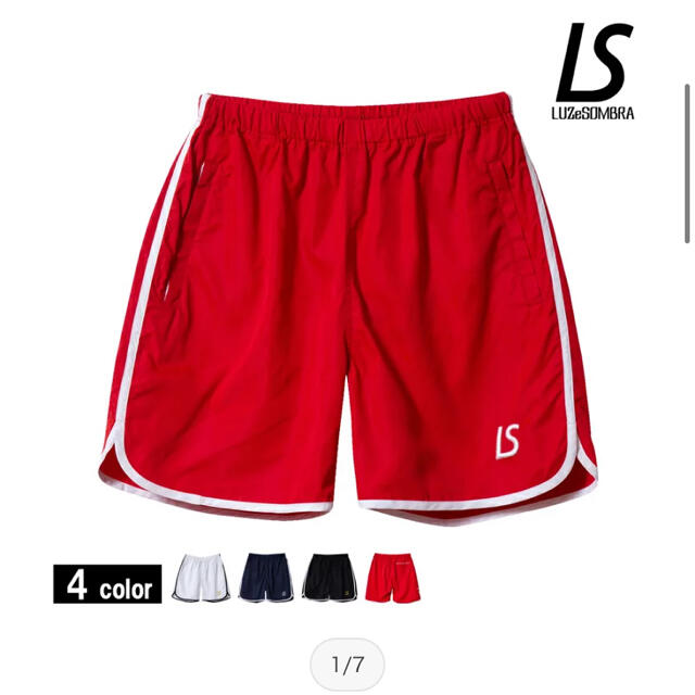 LUZ(ルース)のハーフパンツ ルースイソンブラ プラクティスパンツ スポーツ/アウトドアのサッカー/フットサル(ウェア)の商品写真