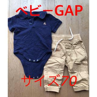 ベビーギャップ(babyGAP)の【ベビーギャップ】ロンパースとパンツセット(その他)
