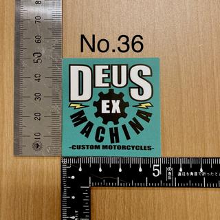 デウスエクスマキナ(Deus ex Machina)のデウス エクス マキナ Deus Ex Machina ステッカー 36(モトクロス用品)