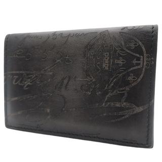 ベルルッティ(Berluti)のベルルッティ インブイア カードケース  ブラック黒 40800075976(名刺入れ/定期入れ)