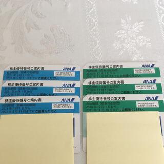 エーエヌエー(ゼンニッポンクウユ)(ANA(全日本空輸))のANA株主優待券6枚(その他)
