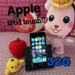 アイポッドタッチ(iPod touch)のApple iPod touch 32G 良品☆ME643J/A(ポータブルプレーヤー)