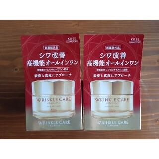 コーセーコスメポート(KOSE COSMEPORT)のグレイス ワン リンクルケア モイストジェルクリーム 2箱(オールインワン化粧品)