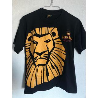 ディズニー(Disney)のディズニー ライオンキング ブロードウェイミュージカル Tシャツ(Tシャツ/カットソー(半袖/袖なし))