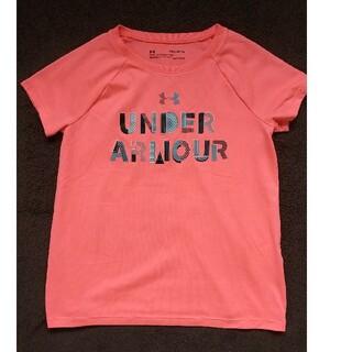 アンダーアーマー(UNDER ARMOUR)の140cm  UNDER ARMOUR 女の子 Tシャツ(Tシャツ/カットソー)