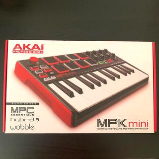 【新品同様】AKAI MPK mini MK2 MIDIキーボード(MIDIコントローラー)