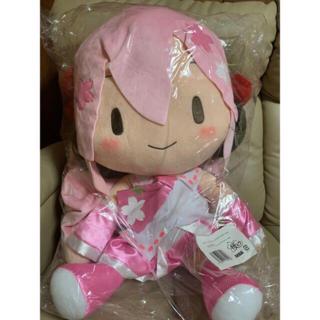 桜ミク どでかジャンボふわふわぬいぐるみ!(ぬいぐるみ)