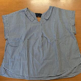 テチチ(Techichi)のテチチ テラス ギンガムチェック シャツ(シャツ/ブラウス(半袖/袖なし))