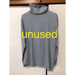 アンユーズド(UNUSED)のUNUSED タートルネックTシャツ(Tシャツ/カットソー(七分/長袖))