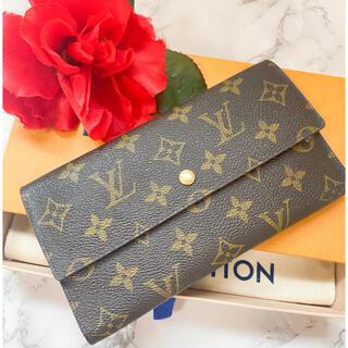 ルイヴィトン(LOUIS VUITTON)の正規品 美品 ルイヴィトン 長財布(財布)