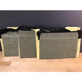 IKEA - 【3枚セット】YPPERLIG イッペルリグ キャリーバッグ