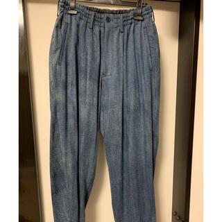ヨウジヤマモト(Yohji Yamamoto)のヨウジヤマモト 80OZ DENIM ELASTIC PANTS(デニム/ジーンズ)