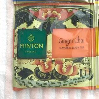ミントン(MINTON)のミントンティー ミントン 和紅茶 生姜チャイ4パック(茶)