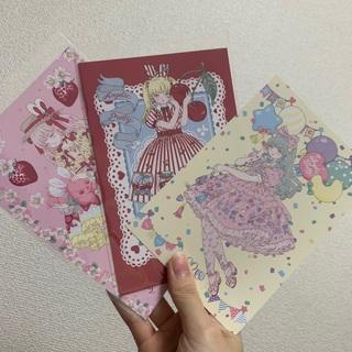 アンジェリックプリティー(Angelic Pretty)のノベルティ ポストカード 3枚セット(写真/ポストカード)