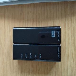 エレコム(ELECOM)のELECOM WRH-300WH-S  コンパクトルーター 値下げしました!(PC周辺機器)