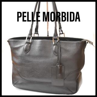 ペッレ モルビダ(PELLE MORBIDA)のMB059 レザー 横型トートバッグPELLE MORBIDA(ペッレモルビダ)(トートバッグ)
