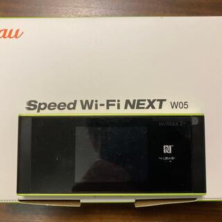 WiMAX 2+ SPEED Wi-Fi NEXT W05 (PC周辺機器)
