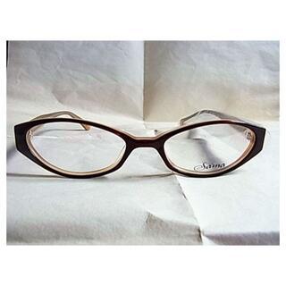 ローリーロドキン(Loree Rodkin)の新品 未使用品 日本製ローリーロドキンめがね眼鏡メガネ茶色ブラウン系(サングラス/メガネ)