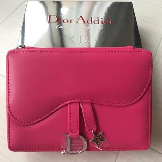 ディオール(Dior)のディオール Dior ポーチ ミラー ノベルティ 非売品 チャーム ロゴ 新品(ポーチ)