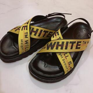 オフホワイト(OFF-WHITE)のOFF-WHITE オフホワイト サンダル(サンダル)