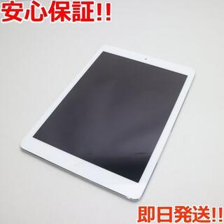 アップル(Apple)の美品 SIMフリー iPad Air Cellular 128GB シルバー (タブレット)