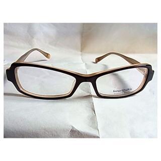 ローリーロドキン(Loree Rodkin)の新品 未使用品 日本製ローリーロドキンめがね 眼鏡 メガネ 茶色ブラウン系(サングラス/メガネ)