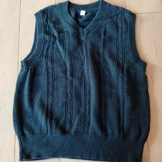 イオン(AEON)の紺ベスト トップバリュ110(Tシャツ/カットソー)