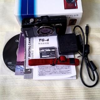 オリンパス(OLYMPUS)のOLYMPUS TG-4 (コンパクトデジタルカメラ)