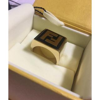 フェンディ(FENDI)のFENDI ロゴシグネットリング(リング(指輪))