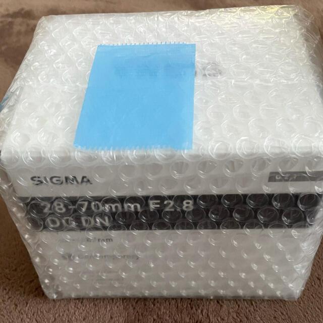 SIGMA(シグマ)のSIGMA 28-70mm F2.8 DG DN ソニーE用 スマホ/家電/カメラのカメラ(レンズ(ズーム))の商品写真