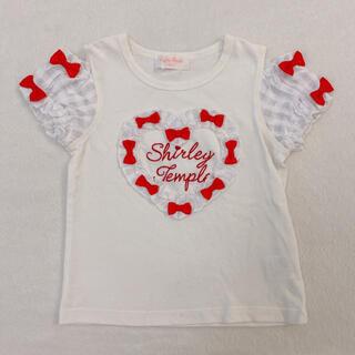 シャーリーテンプル(Shirley Temple)のシャーリーテンプル Tシャツ トップス  ギンガム リボン(Tシャツ/カットソー)