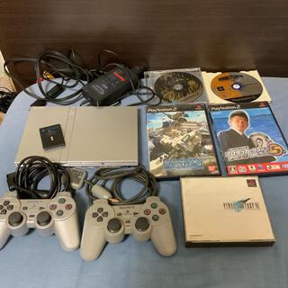PlayStation2 - PS2 本体 薄型 SCPH−75000 選べるオマケ付きセット 清掃済み