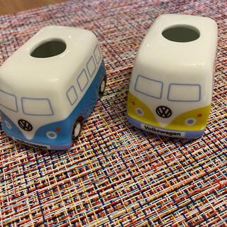 フォルクスワーゲン(Volkswagen)のフォルクスワーゲンバス歯ブラシスタンド(歯ブラシ/歯みがき用品)