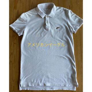アメリカンイーグル(American Eagle)のアメリカンイーグル 白ポロシャツ ポロシャツ 半袖ポロシャツ(ポロシャツ)