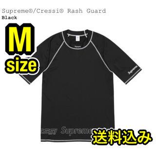 シュプリーム(Supreme)の【完売品】Supreme Cressi Rash Guard 黒 M 送料込み(マリン/スイミング)