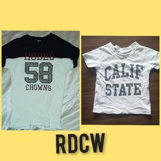 ロデオクラウンズワイドボウル(RODEO CROWNS WIDE BOWL)のRDCWキッズTシャツ(Tシャツ/カットソー)