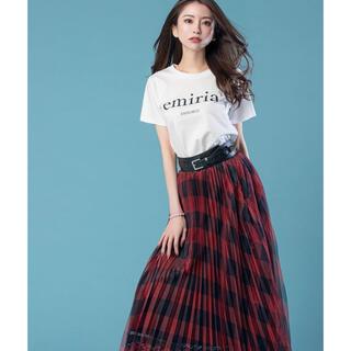 エミリアウィズ(EmiriaWiz)のEmiriaWiz チェックチュールスカート(ロングスカート)