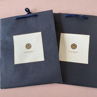 ローリーロドキン(Loree Rodkin)のローリーロドキン 紙袋 2枚(ショップ袋)