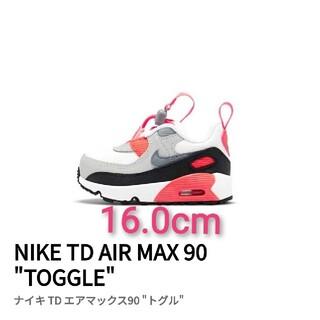 """ナイキ(NIKE)の16.0cm エアマックス 90 TD """"トグル"""" インフラレッド ナイキ (スニーカー)"""